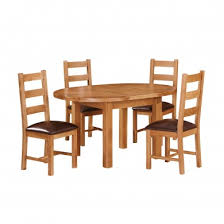 canterbury oak ext dining table oval 1 1 1 5m