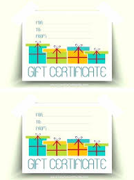 free gift certificate maker template