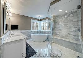 carrara marble bathroom designs.  Bathroom Bianco Carrara Marble Bathroom Design Inside Designs R