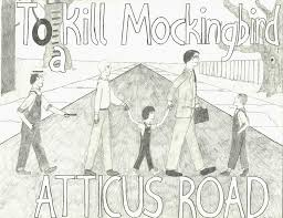 to kill a mockingbird meets abbey road by clownsthelord on  to kill a mockingbird meets abbey road by clowns4thelord