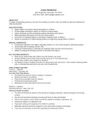Resume For Daycare Worker Resume Child Care Assistant Resume 24