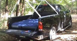 check out this easy to make pvc truck tent