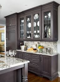 Interesting Dark Kitchen Cabinets Colors A On Decor