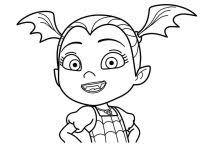 Vampirina Coloring Pages Free Printable Disney Junior Vampirina To