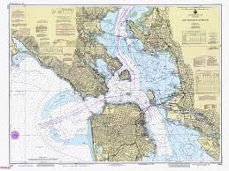 Historical Nautical Chart 18649 10 1986 Entrance To San Francisco Bay