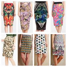 Patterned Skirts