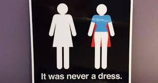 womens bathroom sign cape. Fine Womens It Was Never A Dress This Campaign Will Change The Way You See Womenu0027s  Bathroom Signs Forever  Bored Panda With Womens Sign Cape O