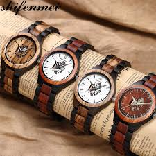 <b>Shifenmei Wood Men</b> Watch Roller Watch Top Luxury Brand Man ...