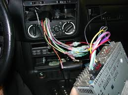 bmw e30 e36 radio head unit installation 3 series 1983 1999 the new head unit wired up figure 18