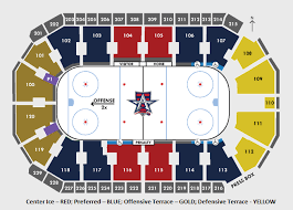 Iowa Event Center Seating Chart Seating Chart Allen Americans Hockey Club