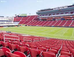 La Coliseum Seating Chart Soccer Los Angeles Memorial Coliseum Section 120 A Seat Views