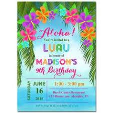 Hawaiian Pool Party Invitations 8 Best Hawaiian Invitations Images Hawaiian Invitations Hawaiian