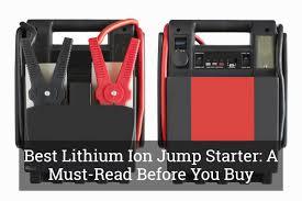 best lithium ion jump starter