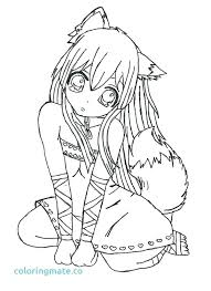 anime printable coloring pages. Perfect Coloring Girl Printable Coloring Pages Anime Page  For Girls Unique And Anime Printable Coloring Pages G