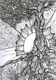 Small Picture Images About Coloring Pages Tree Of Life On Pinterest Tree