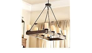 arturo 8 light rectangular chandelier ballard designs com for decor 12