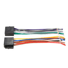 universal wire harness adapter connector cable radio wiring wiring harness adapter for car stereo walmart at Universal Radio Wiring Harness