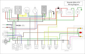 wiring diagram for chinese 110 atv efcaviation com taotao wiring harness at Tao Tao 110cc Engine Wiring