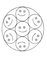 Mandalas A Imprimer Gratuit 37 Mandalas Avec Personnages 100