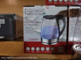 3x kettle lizenz linie glas ausgabe