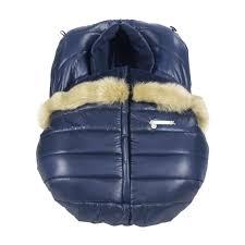 winter car seat cover a aspen navy blue group 0 winter car seat cover graco infant