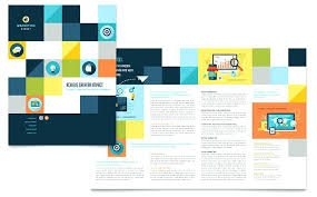 Conference Brochure Templates Professional Services Brochures ...
