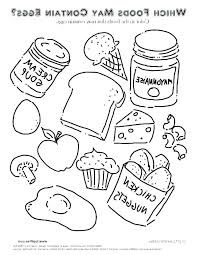 Coloring Pages Of Food Coloring Pages Cute Food Fresh Food Coloring