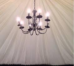 black 8 arm chandeliers