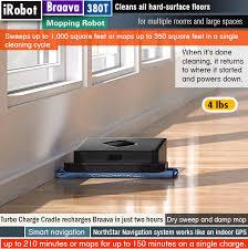 Image Roomba Irobot Braava 380t Best Robot Mop Chainsaw Journal Best Robot Mop Reviews Fantastic Robot Mops To Clean Your Hard Floors