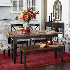 larchmont dining table unique carmichael dining table rubbed black pier 1 imports