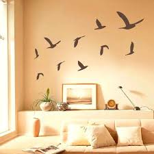 bird large wall decals flying stickers set of birds minimal target
