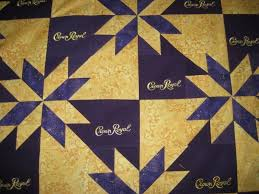 Image result for crown royal quilt | Gloria | Pinterest | Crown ... & Crown royal quilt Adamdwight.com