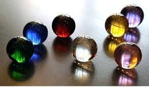 colored glass mixed color large decorative glass quartz crystal ball sphere clear colored glass colored glass