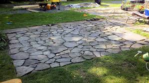 flagstone patio with grass. That Flagstone Patio With Grass