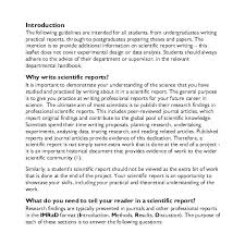 Science Report Format Scientific Report Format Template Reports Word Awesome