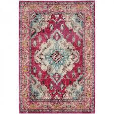 safavieh monaco pink multi rugs mnc243d