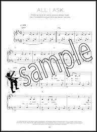 adele sheet music adele 25 easy piano sheet music book hello million years ago when we