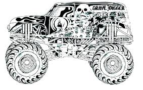 Truck Coloring Pages Pictures Of Trucks To Color Free Fire Picture