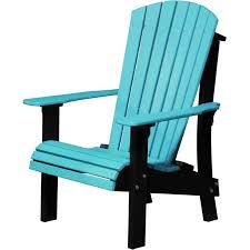 chair senior height aruba blue and black deluxe adirondack furniture made in usa builder76