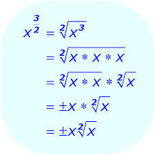 math fractional exponent using variable compute the exponent first example 3