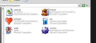 play clic windows xp games on