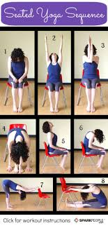 1000 ideas about chair yoga on chair yoga poses 8 seated yoga poses you can do from a chair