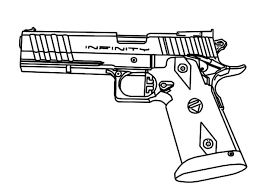 Small Picture Gun Coloring Pages Gun Coloring Pages Bestofcoloring Free inside