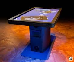 Micrsoft Table Ideum Surpasses Microsoft Surface With 55 Inch Multitouch Table