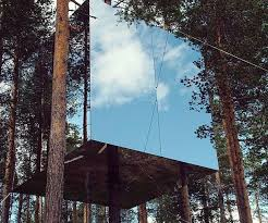invisible tree house hotel. Mirror Cube Treehouse Rental Invisible Tree House Hotel O