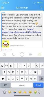 Discussion] Snapchat locked my account and I have zero tweaks installed  regarding Snapchat: jailbreak