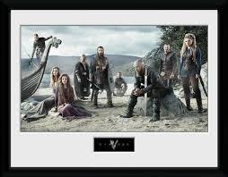 Vikings Beach Rámovaný Obraz Na Zeď Posterscz