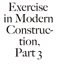 Construction Quotes Interesting Exercise in Modern Construction Part 48 Sp ct r
