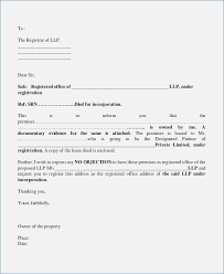 No Objection Certificate Sample From Employer Noc Letter Format From