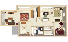 3 Bedroom Floor Plans Simple Inspiration